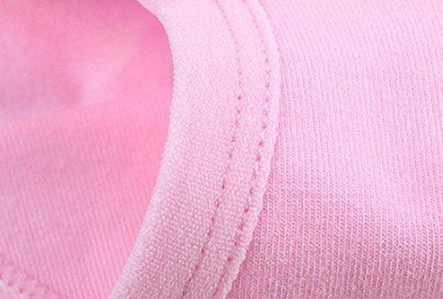 Qiaoyu Femmes enceintes Femmes Basse taille Briefs U en forme de soutien du ventre en coton sous-v¨ºtements Rose