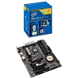Kit Processeur Intel Core i5-4690K + Carte Mère Asus Z97-A