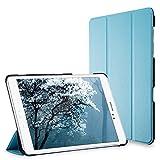 Galaxy Tab A 9.7 Funda, JETech Slim Fit Galaxy Tab A 9.7 Smart Case Funda Carcasa con Stand Función y Auto-Sueño/Estelar para Samsung Galaxy Tab A 9.7 pulgadas (Azul) - 3221