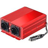 reVolt Strom Umwandler: Kfz-Spannungswandler 700 W, 2X 230 V AC, 5 V USB, Peak 1400 W (Sinus Wechselrichter)