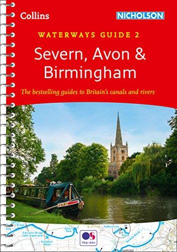 3016b7a742 Severn, Avon & Birmingham: Waterways Guide 2 (Collins Nicholson Waterways  Guides) by