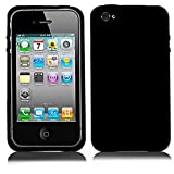 MECAWEB Custodia Cover Guscio Case Mascherina TPU per Smartphone Apple iPhone 4 4S 4 S