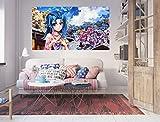 AJ WALLPAPER 3D Yu-Gi-Oh 183 Japan Anime Adesivi Murali Vinile Murales Stampare Arte | Autoadesiva Grande Adesivi Murali IT Zoe (Vinile (Senza Colla e Rimovibile), 【102.3' x 59.0'】 260x150cm(WxH))