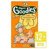Galletas Organix Mini-Hombres de Jengibre (6 paquetes)