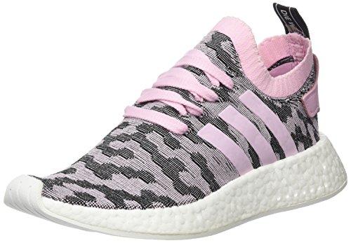 adidas Damen Nmd_r2 Pk W Turnschuhe, Grau, Pink (Wonder Pink/Core Black), 36 2/3 EU -