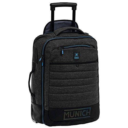 Munich Black To Color Equipaje de Mano, 35 Litros, Color Gris