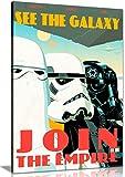 Bild/Druck auf Leinwand mit Motiv von Star Wars (Krieg der Sterne), Die Propaganda der Stormtroopers, Wandkunst, A2 61x41 cm (24x16in)