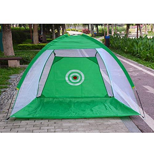 Monlladek Golf Übungsnetz Käfig Indoor/Outdoor Golf Trainingshilfen Tragbar Faltbar Gartenwiese Golf Übungsnetz