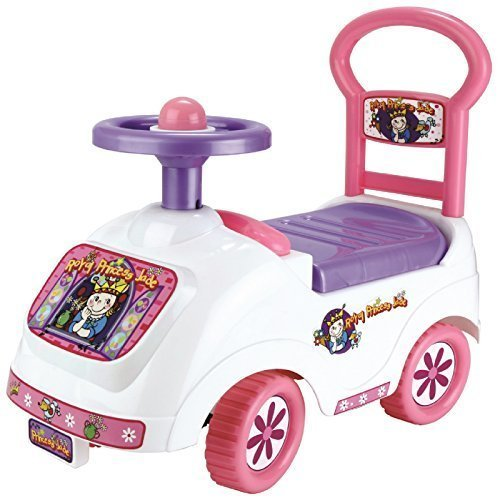 Image of (Toyrific) Princess Pink & White Truck Ride-On-Car (Age 12m+)