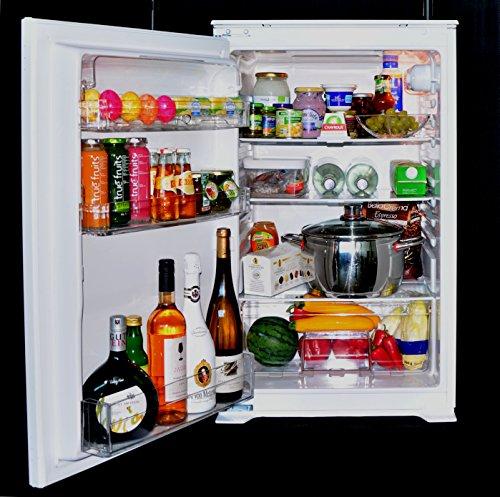 Preisvergleich Produktbild Einbaukühlschrank ALASKAline KSAL270A+ Schlepptürtechnik Kühlschrank 0, 88 m hoch weiß