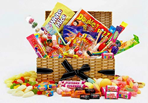 Retro Sweet Hamper - Old Time Favourite Sweets Gift Box