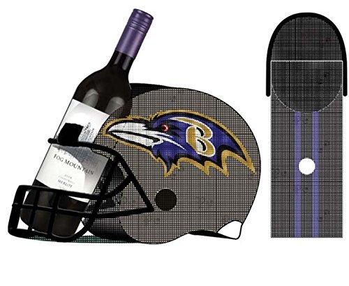 Baltimore Ravens Football Helm Flasche und Kork Käfig Halterung