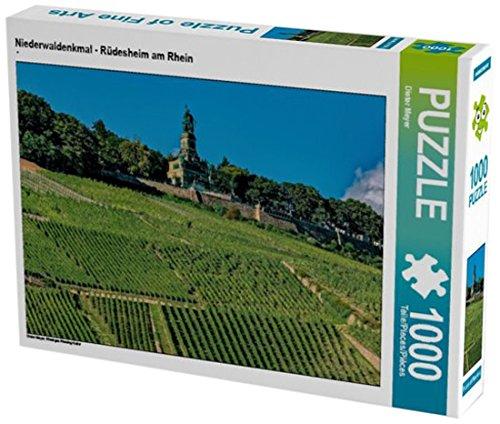 Preisvergleich Produktbild Niederwaldenkmal - Rüdesheim am Rhein 1000 Teile Puzzle quer: Rheingau Riesling Kultur (CALVENDO Natur)