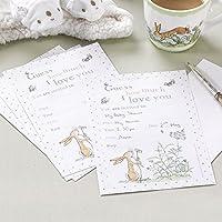 Biglietti e buste per invito con disegni della serie 'Guess How Much I love You' (Baby Shower Inviti Libri)