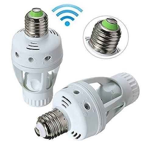 Egomall E27 infrarouge PIR ampoule de détecteur de mouvement Commutateur Support Convertisseur
