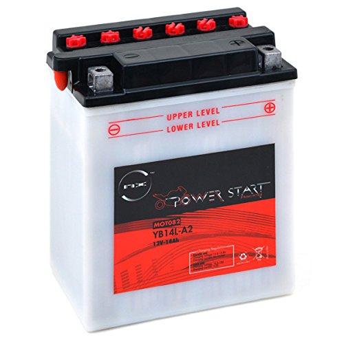 NX - Motorrad Batterie YB14L-A2 / 12N14-3A 12V 14Ah