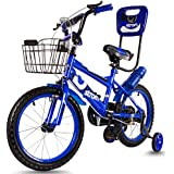 Baybee Strom Freestyle Kids Bike | Boys Bikes And Girls Bikes With Training Wheels And Basket, 14 Inches, Gifts For Children