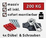 KTC Tec Profi Boxsackhalterung Deckenhalterung Halterung Boxsack Boxsackhalter Halter B2