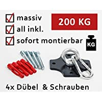 Profi Boxsackhalterung Deckenhalterung Halterung Boxsack Boxsackhalter Halter B2