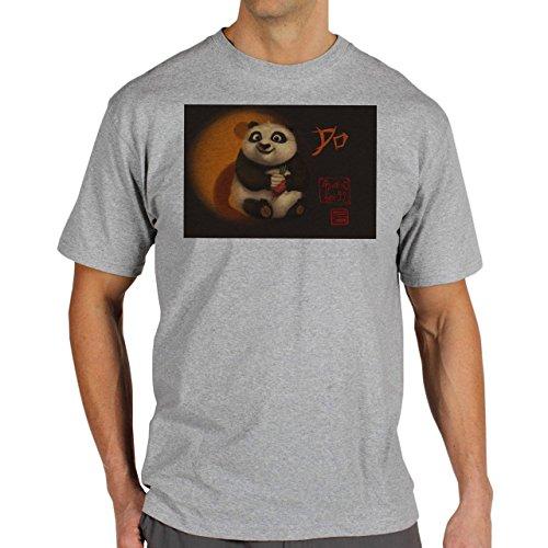 Kung-Fu-Panda-Small-China-Background.jpg Herren T-Shirt Grau