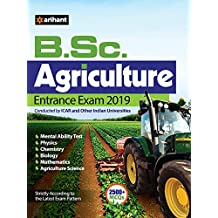 B.Sc. Agricuture Entrance Exam 2019