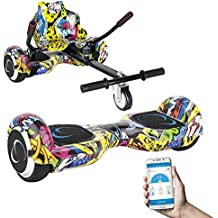 SmartGyro X2 UL + GO KART PACK STREET - Patín eléctrico X2 UL (Hoverboard 6