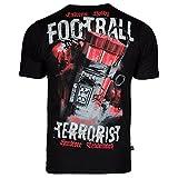 Extreme Hobby Fanswear. Herren Casual T-Shirt. Football Terrorists. Hooligans(Größe XLarge)