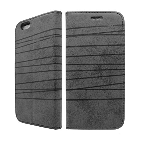 NWNK13 ® iPhone slim design imprimé Collection Livre/Portefeuille/côté ouvert Étui/emplacements pour cartes avec film d'écran & Stylet Tactile