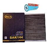 Original SCT Germany Innenraumfilter SAK144 + Autoladegerät geschenkt