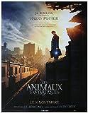 Les Animaux Fantastiques Affiche Cinéma Originale Grand Format (160x120 cm Pliée)