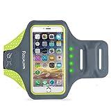 FSDUALWIN IPhone 7 Plus Armband mit selbstsichernder LED, iPhone 6 / 6s Plus Sport Armband (5,5...