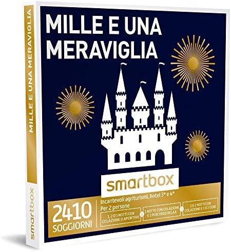 Smartbox - Cofannetto Cofannetto Cofannetto Regalo - Mille E Una MERAVIGLIA - 2410 soggiorni a Scelta in agriturismi o Hotel 3 o 4 | Aspetto Attraente  | scarseggia  7c596d