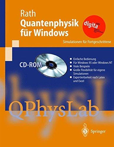 Quantenphysik für Windows 1.5, Schullizenz, 1 CD-ROM Simulationen für Fortgeschrittene. Für Windows 95/NT 4.0