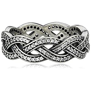 Pandora Damen-Ring 925 Silber Zirkonia weiß 190913CZ