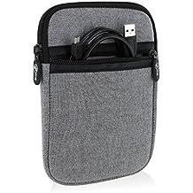 Navi - Funda universal para tablets de 6pulgadas con unas dimensiones máximas de 180x120cm, color gris