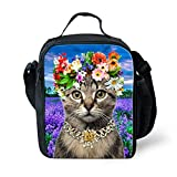 Best Teen Lunch Boxes - Nopersonality Pretty Cat Lunch Bag for Teen Girls Review