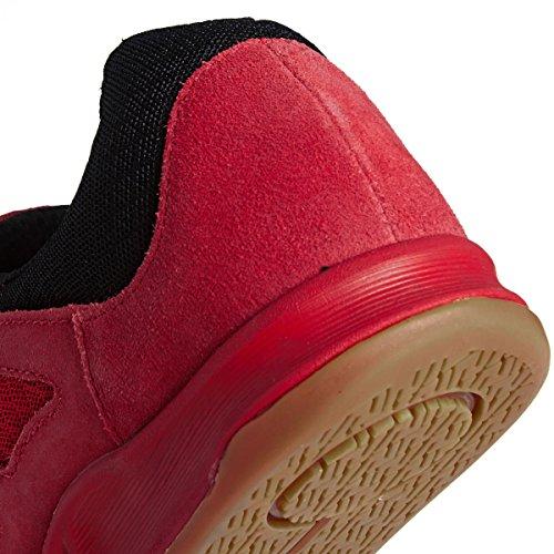 Supra Chaussures Avex Red Black Gum Noir