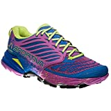 La Sportiva Akasha Woman, Scarpe da Trail Running Donna, Multicolore (Blu Oltremare/Viola 000), 40.5...