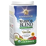 Sunwarrior 1 kg Vanilla Warrior Blend Organic Protein Powder