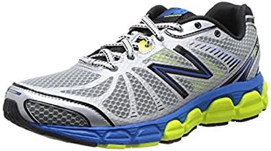New Balance 780v4, Men's Running Shoes, Silver/Blue/Yellow