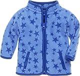 Schnizler Unisex Baby Jacke Fleece Sterne, Oeko-Tex Standard 100, (Blau 7), 56