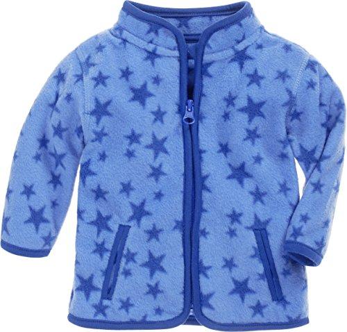 Schnizler Baby Fleece-Weste /ärmellose Unisex-Jacke f/ür M/ädchen und Jungen mit Rei/ßverschluss und Kontrastn/ähten