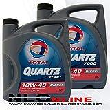 Total Quartz 7000 Diesel 10W40 10 Litres (2 X 5 Litres)