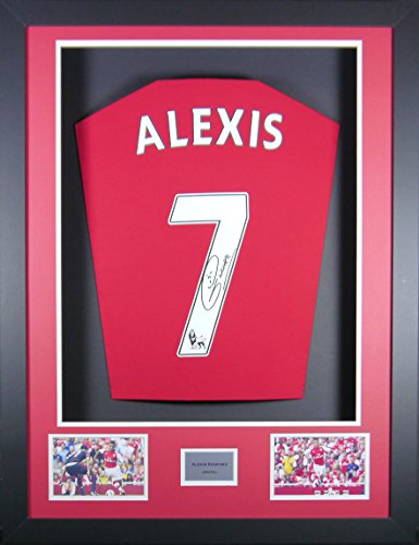 Alexis-Sanchez-Arsenal-Signed-Shirt-3D-Display