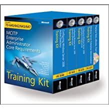 MCITP Self-Paced Training Kit (Exams 70-640, 70-642, 70-643, 70-647): Windows Server 2008 Enterprise Adminstrator Core Requirements Book/CD/DVD Package