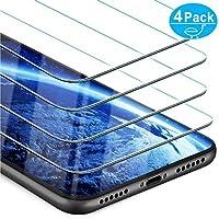 Beikell Protector Pantalla iPhone XR, [4-Paquetes] iPhone XR Protector de Pantalla Vidrio Templado Premium, Dureza 9H Alta Definicion Anti-rasguños,Compatible 3DTouch