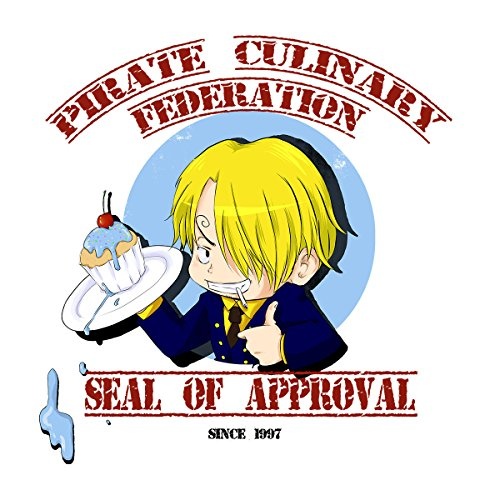 One Piece Sanji Chef Men's Vest White