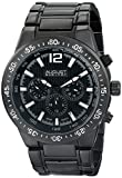 August Steiner Herren Analog Display Swiss Quartz Black Watch