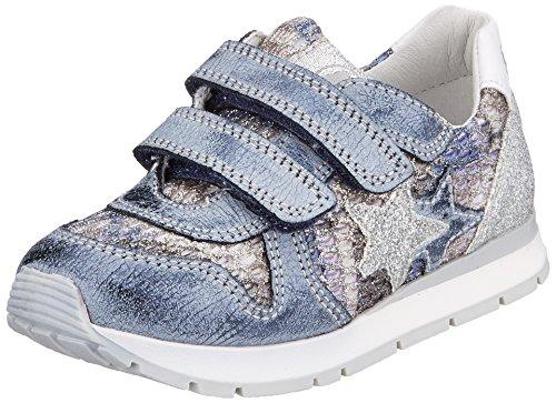 Naturino Mädchen Parker VL Sneaker, Blau (Bleu), 33 EU