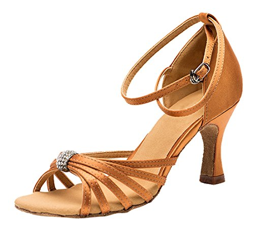 TDA - Peep-Toe donna 7.5cm Brown